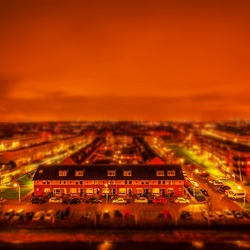 Hotel view - Tilt Shift