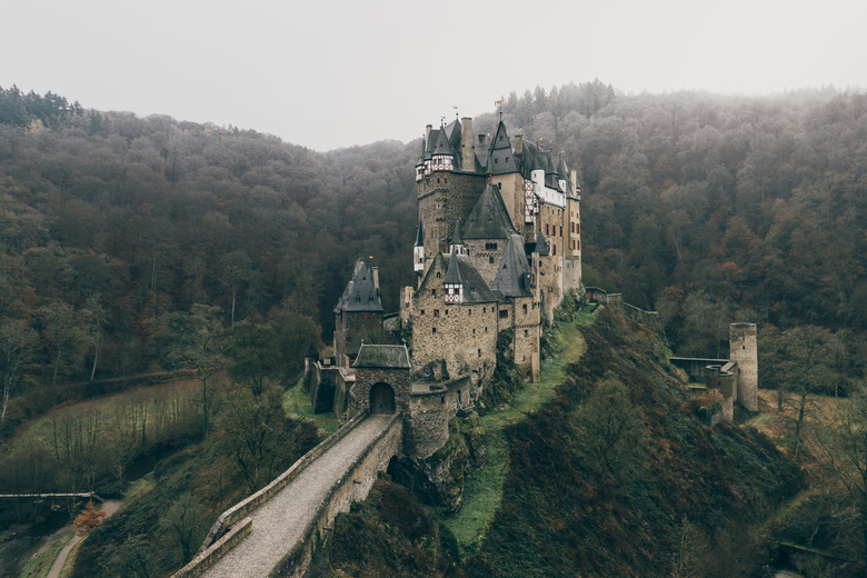 Castle Eltz. - Sometimes the story is better than the shot, or perhaps it was the other way around... breaking an elbow after taking this picture wasn