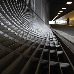Fiets Tunnel.