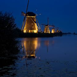 Kinderdijk at night 2