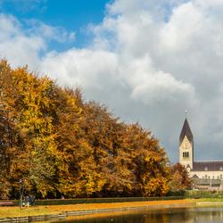 Herfstkleuren met zonnetje in Gulpen-Wittem