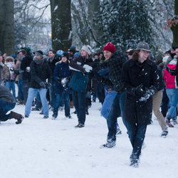 Biggest Baddest Snowball Battle 2013