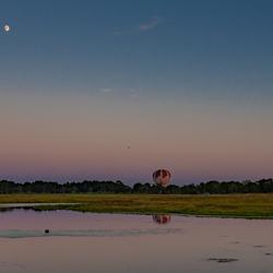 Grote Masloot met ballon en maan