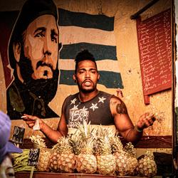 Havana Fruit verkoper