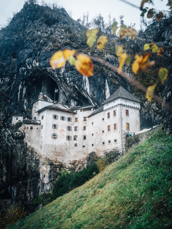 Predjama Castle - Did you know Slovenia had its own Robin Hood? <br /> A rebellious knight.... he was forced into hiding deep in the walls of his fam