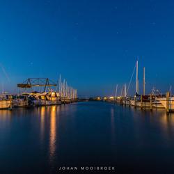 Bork Havn at night II