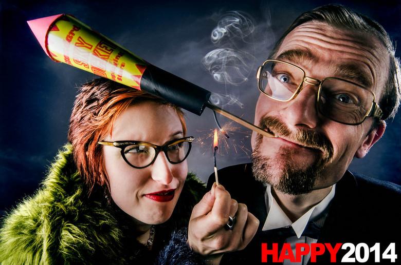 Happy 2014 - Gelieve vuurwerk niet in de hand te houden!