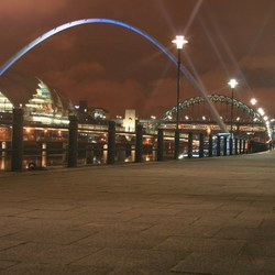 Newcastle by night