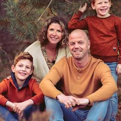 Familieportret herfst
