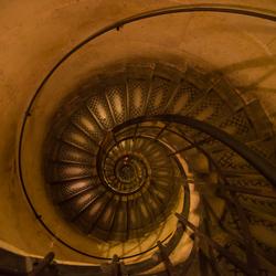 Spiral stairway
