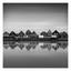 Donkere wolken boven Volendam