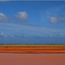 Gekleurd water