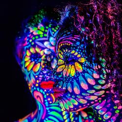 UV bodypaint