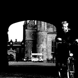Little boy at the Binnenhof