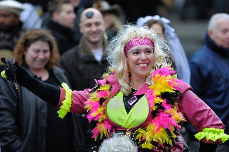 carnaval 3 - opname van de zondag gehouden carnevalsoptocht ,in Tilburg