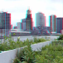 dak Schieblock Rotterdam 3D