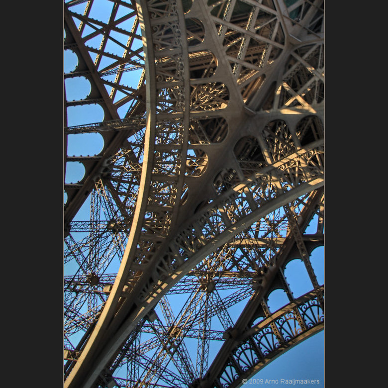 Parijs Tour Eiffel1 - Enkele foto&#039;s van deze massa metaal.<br />
