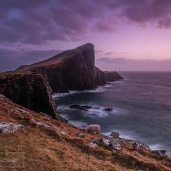 Sunset @ Neist point lighthouse, Isle of Skye