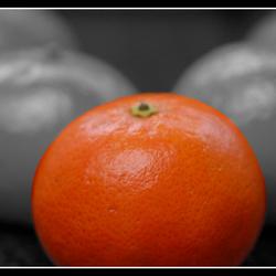 1 Gekleurde manderijn
