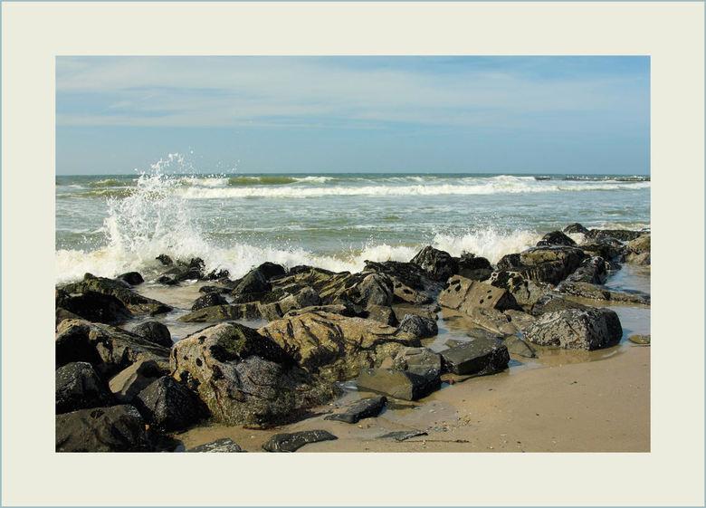Aan de kust !! - Op het strand bij Camperduin
