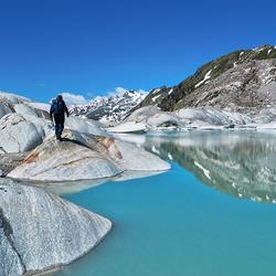 Furkapass - Wallis - Zwitserland