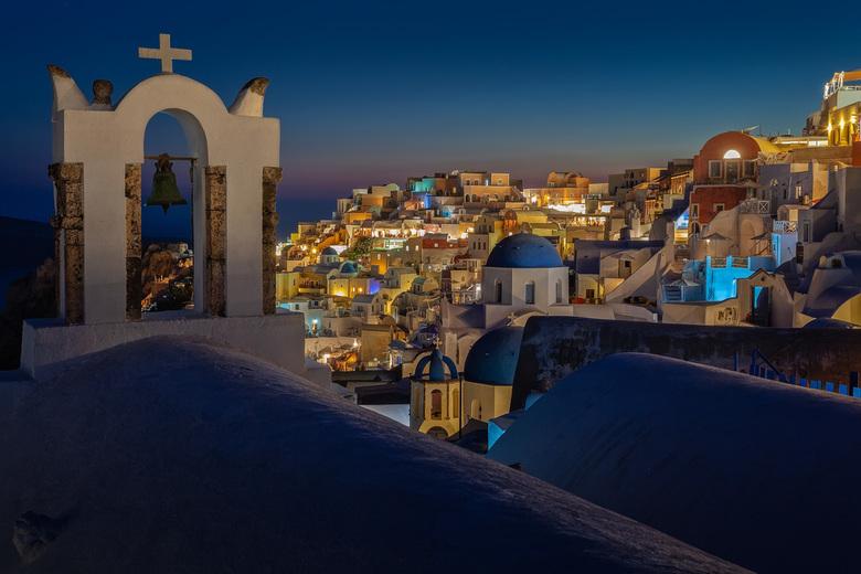 Santorini - Griekenland - Prachtige kijk op het eiland