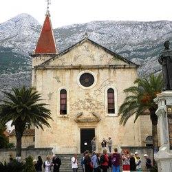 Kroatie Makarska -St. Mark's Cathedral-