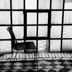 Verlaten stoel