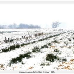 Sneeuwlandschap - Butendiken - Smalle Ee - I