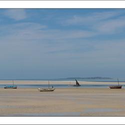 Uitzicht op Benguerra eiland