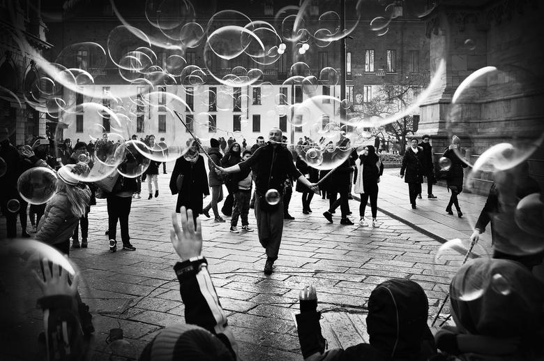 The bubble master -
