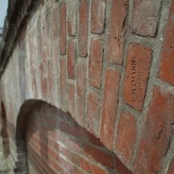 Gewelf muur