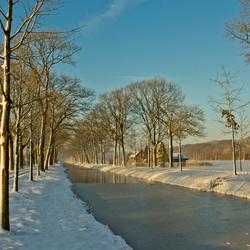 Winterlandschap Grientsveen