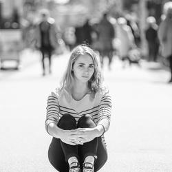 Eva op straat