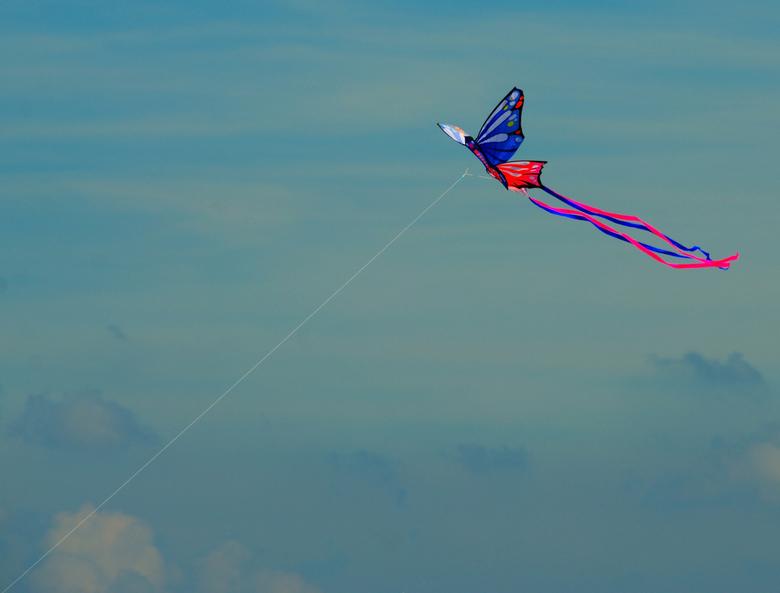 High as a kite. - Gewoon een vlieger.