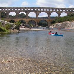Pont du Gard een monument van Romeinse kennis