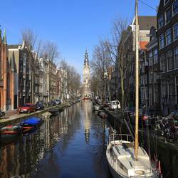 Aan die Amsterdamse grachten...