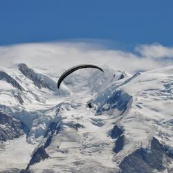 Parapente Mont Blanc