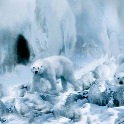 Nog even ijsberen