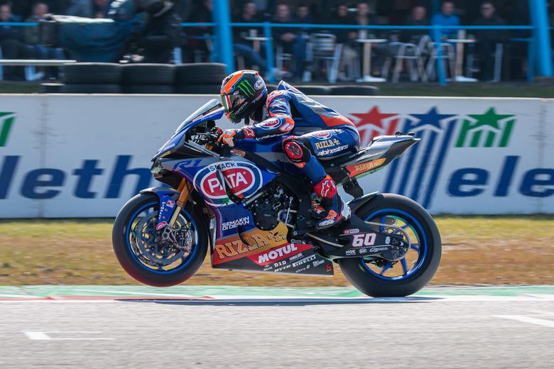 Michael van der Mark - Michael van der Mark tijdens het WK Superbikes op Assen eerder dit jaar. <br /> <br /> Wat vind jij goed? Wat zou jij anders