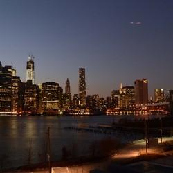 Zicht op Manhattan, NY