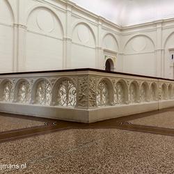 Omheining trap Stedelijk Museum Amsterdam