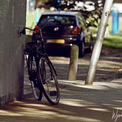 Leave stolen bike here