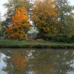 weerspiegeling herfstkleuren