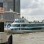 Aankomst van de rondvaartboot.