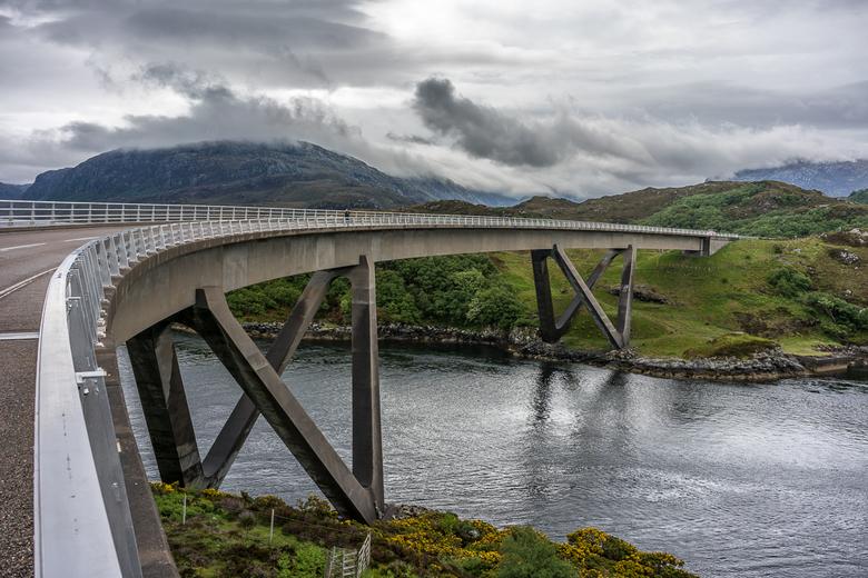 Schotland 5 - Kylesku bridge