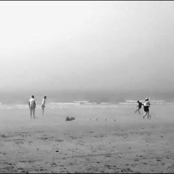 Spelen in de zeevlam.....