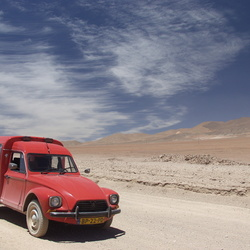 Acadiane in de Atacama