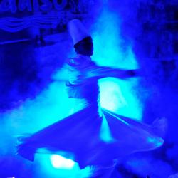 Licht en dans.