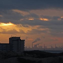 Zonsondergang in Kijkduin